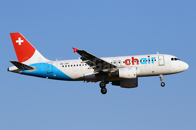 Chair Airlines Airbus A319-112 HB-JOH (msn 3589) PMI (Javier Rodriguez). Image: 946861.