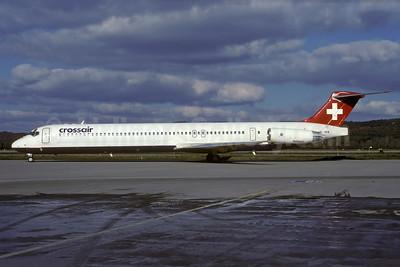 Crossair McDonnell Douglas DC-9-83 (MD-83) HB-INW (msn 49569) ZRH (Rolf Wallner). Image: 935399.