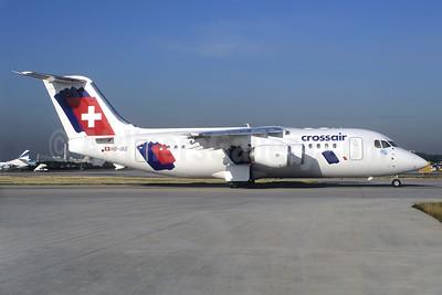 Crossair BAe RJ85 HB-IXG (msn E2231) CDG (Christian Volpati). Image: 925715.