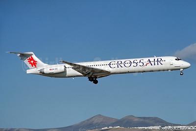 Crossair McDonnell Douglas DC-9-81 (MD-81) HB-ISX (msn 49844) ACE (Antony J. Best). Image: 938524.