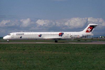 Crossair McDonnell Douglas DC-9-83 (MD-83) HB-INW (msn 49569) DUB (SM Fitzwilliams Collection). Image: 935400.