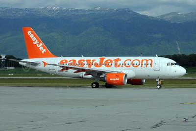 easyJet (easyJet.com) (Switzerland) Airbus A319-111 HB-JZF (msn 2184) GVA (Dave Glendinning). Image: 908624.