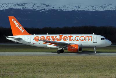 easyJet (easyJet.com) (Switzerland) Airbus A319-111 HB-JYB (msn 4837) GVA (Paul Denton). Image: 920341.