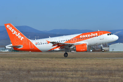 easyJet (Switzerland) Airbus A319-111 HB-JYI (msn 4744) BSL (Paul Bannwarth). Image: 941057.