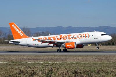 easyJet (easyJet.com) (Switzerland) Airbus A320-214 HB-JXD (msn 5150) BSL (Paul Bannwarth). Image: 928118.