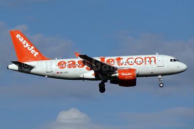 easyJet (easyJet.com) (Switzerland) Airbus A319-111 HB-JZS (msn 3084) BSL (Paul Bannwarth). Image: 924160.
