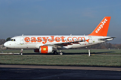 easyJet (easyJet.com) (Switzerland) Airbus A319-111 HB-JZN (msn 2387) SEN (Keith Burton). Image: 920350.