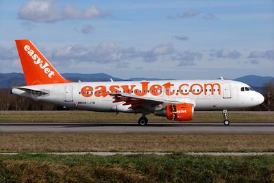easyJet (easyJet.com) (Switzerland) Airbus A319-111 HB-JYB (msn 4837) BSL (Paul Bannwarth). Image: 920340.