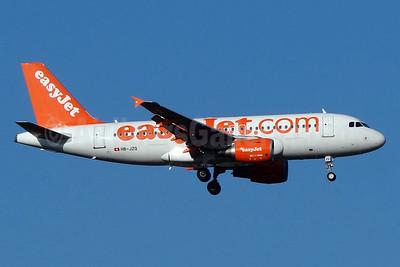 easyJet (easyJet.com) (Switzerland) Airbus A319-111 HB-JZQ (msn 2450) BSL (Paul Bannwarth). Image: 930532.
