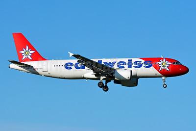 Edelweiss Air Airbus A320-214 HB-IHY (msn 947) ZRH (Paul Bannwarth). Image: 927750.