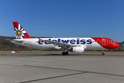 Edelweiss Switzerland Airbus A320-214 HB-IJV (msn 2024) ZRH (Ton Jochems). Image: 949008.