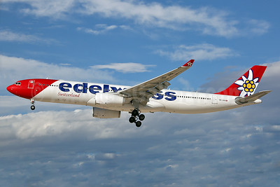 Edelweiss Switzerland (Edelweiss Air) Airbus A330-343 HB-JHR (msn 1711) LAS (Keith Burton). Image: 937678.