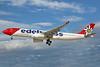 Edelweiss Switzerland (Edelweiss Air) Airbus A330-343 HB-JHR (msn 1711) LAS (Keith Burton). Image: 937678.