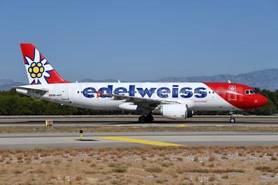 Edelweiss Switzerland (Edelweiss Air) Airbus A320-214 HB-IHY (msn 947) AYT (Ton Jochems). Image: 955472.