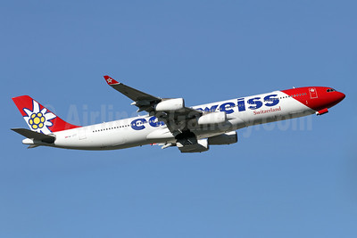 Edelweiss Switzerland (Edelweiss Air) Airbus A340-313 HB-JMG (msn 562) ZRH (Andi Hiltl). Image: 939670.