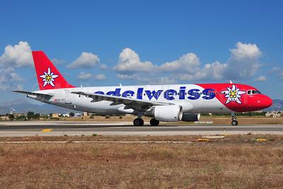 Edelweiss Air Airbus A320-214 HB-IHY (msn 947) PMI (Ton Jochems). Image: 955471.