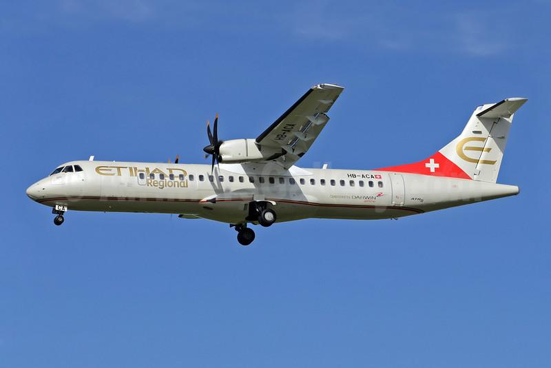 Etihad Regional's (Darwin Airline) first ATR 72-500