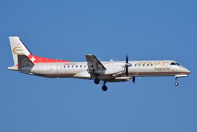 Etihad Regional-Darwin Airline SAAB 2000 HB-IYD (msn 059) ZRH (Paul Bannwarth). Image: 927968.