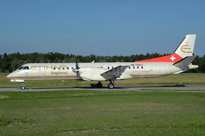 Etihad Regional-Darwin Airline SAAB 2000 HB-IYD (msn 059) ZRH (Rolf Wallner). Image: 927967.