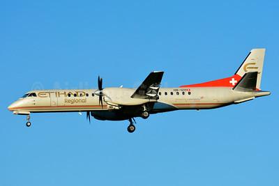 Etihad Regional-Darwin Airline SAAB 2000 HB-IZH (msn 011) ZRH (Paul Bannwarth). Image: 938916.