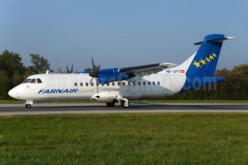 Farnair Europe (Switzerland) ATR 42-320 HB-AFF (msn 264) ZRH (Rolf Wallner). Image: 929730.