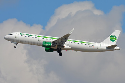 Germania (Switzerland) (Germania.ch) Airbus A321-211 WL HB-JOI (msn 5843) ZRH (Paul Bannwarth). Image: 934284.
