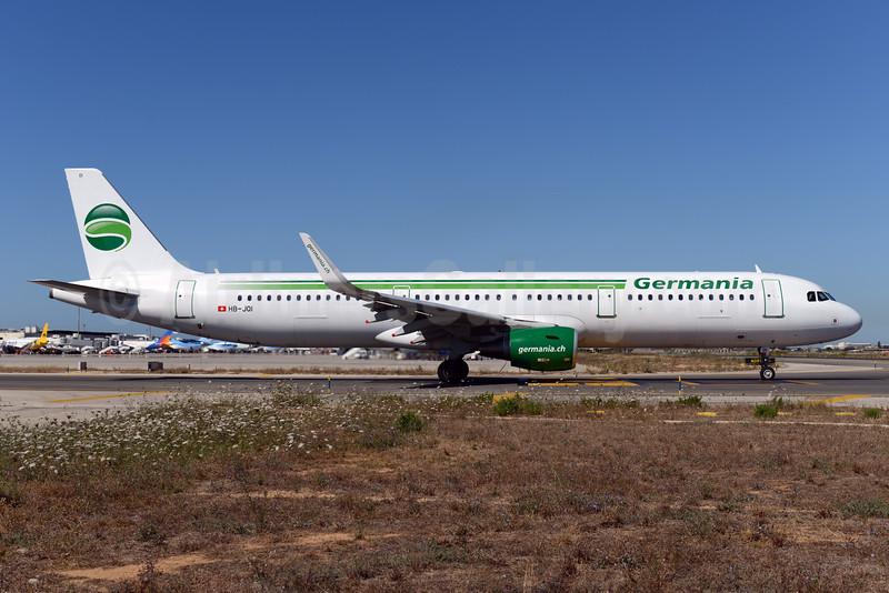 Germania (Switzerland) (Germania.ch) Airbus A321-211 WL HB-JOI (msn 5843) PMI (Ton Jochems). Image: 934283.