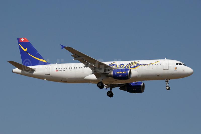 Hello Airbus A320-214 HB-JIW (msn 888) AYT (Paul Denton). Image: 920448.