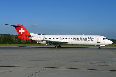 Helvetic Airways Fokker F.28 Mk. 0100 HB-JVE (msn 11459) ZRH (Rolf Wallner). Image: 934965.