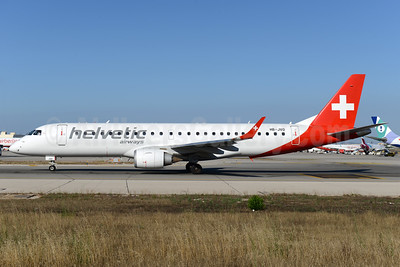 Helvetic Airways Embaer ERJ 190-100LR HB-JVO (msn 19000294) PMI (Ton Jochems). Image: 938362.