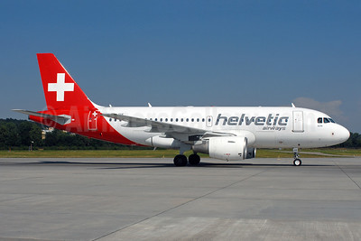 Helvetic Airways Airbus A319-112 HB-JVK (msn 1886) ZRH (Rolf Wallner). Image: 912106.