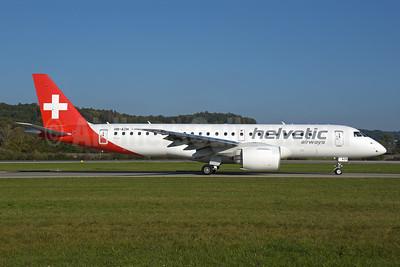 Helvetic Airways Embaer ERJ 190-E2 (ERJ 190-300 STD) HB-AZH (msn 19020046) ZRH (Rolf Wallner). Image: 955571.