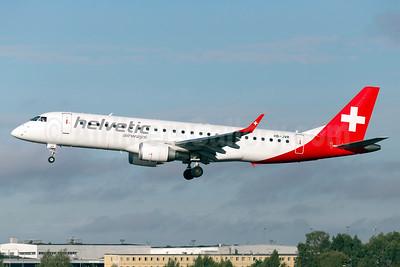 Helvetic Airways Embaer ERJ 190-100LR HB-JVR (msn 19000435) ARN (Stefan Sjogren). Image: 932072.