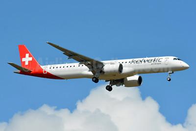 1st E195-E2, delivered June 24, 2021, based Basle