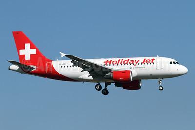 Holiday Jet (Germania) Airbus A319-111 HB-JOH (msn 3589) ZRH (Andi Hiltl). Image: 926630.