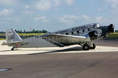 Ju-Air Junkers Ju-52/3m HB-HOT (msn 6595) (Rimowa-The Luggage with the Grooves) NWI (Matt Varley). Image: 908620.