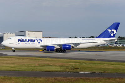 Panalpina (Atlas Air) Boeing 747-87UF N851GT (msn 37565) (Panalpina on 6 Continents) PAE (Royal S. King). Image: 908768.
