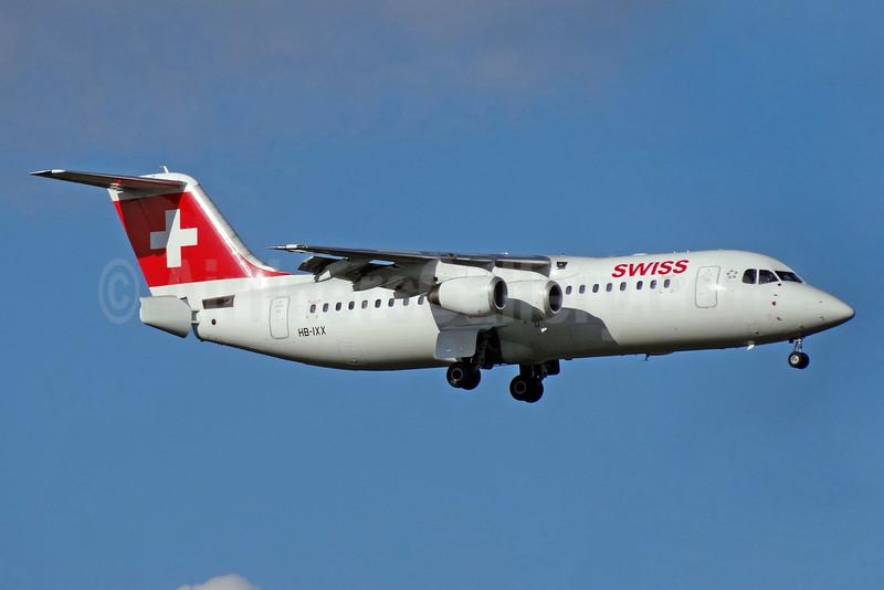Type Retired: August 15, 2017 (LX 7545 Geneva - Zurich with HB-IYZ)