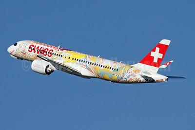 """Swiss' """"Fête des Vignerons 2019"""" logo jet"""