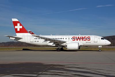Swiss International Air Lines Airbus A220-100 (Bombardier CS100 - BD-500-1A10) HB-JBI  (msn 50018) ZRH (Rolf Wallner). Image: 948818.