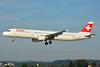 Swiss International Air Lines Airbus A321-111 HB-IOK (msn 987) ZRH (Paul Bannwarth). Image: 935306.