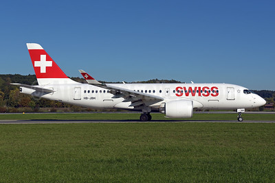 Swiss International Air Lines Airbus A220-100 (Bombardier CS100 - BD-500-1A10) HB-JBH  (msn 50017) ZRH (Rolf Wallner). Image: 943813.