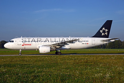 Swiss International Air Lines Airbus A320-214 HB-IJN (msn 643) (Star Alliance) ZRH (Rolf Wallner). Image: 934801.