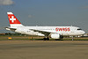 Swiss International Air Lines Airbus A319-112 HB-IPV (msn 578) LHR. Image: 931902.
