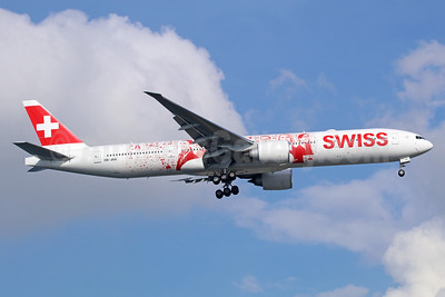 Swiss International Air Lines Boeing 777-3DE ER HB-JNA (msn 44582) (Faces of SWISS - images of employees) SIN (Michael B. Ing). Image: 936825.