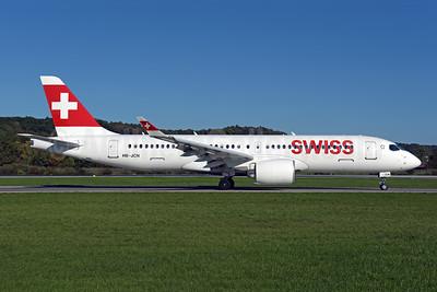 Swiss International Air Lines Airbus A220-300 (Bombardier CS300 - BD-500-1A11) HB-JCN (msn 55032) ZRH (Rolf Wallner). Image: 943790.