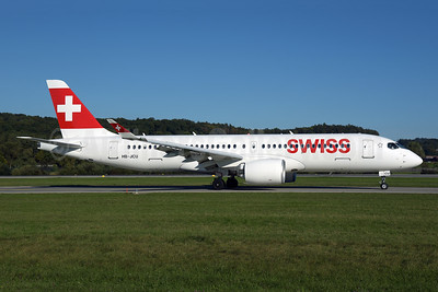 Swiss International Air Lines Airbus A220-300 (Bombardier CS300 - BD-500-1A11) HB-JCU (msn 55110) ZRH (Rolf Wallner). Image: 955572.