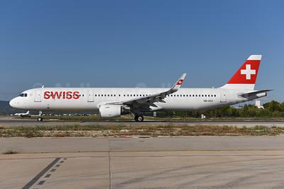 Swiss International Air Lines Airbus A321-212 WL HB-IOO (msn 7007) PMI (Ton Jochems). Image: 943901.