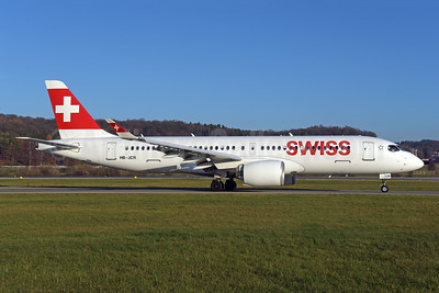 Swiss International Air Lines Airbus A220-300 (Bombardier CS300 - BD-500-1A11) HB-JCR (msn 55044) ZRH (Rolf Wallner). Image: 948513.