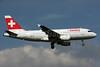 Swiss International Air Lines Airbus A319-112 HB-IPT (msn 727) LHR (SPA). Image: 931901.